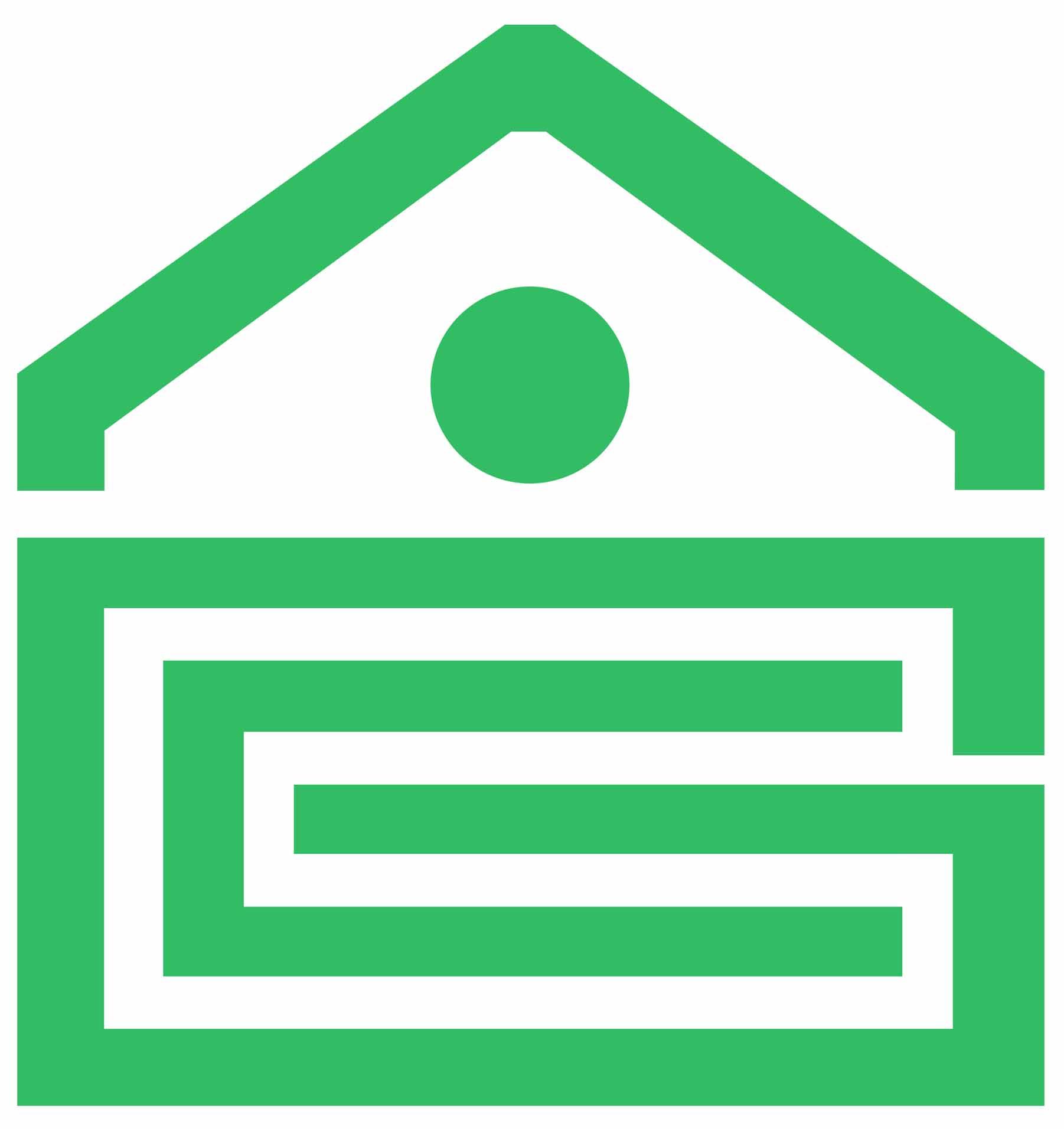 人民银行建筑矢量图